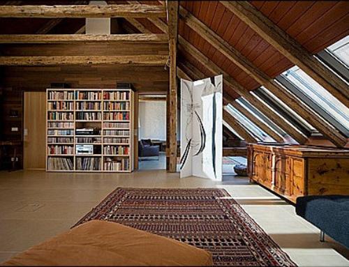 Dachgeschoßausbau Wohnhaus Kircher