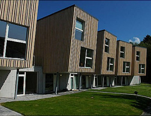 Siedlung in Norwegen